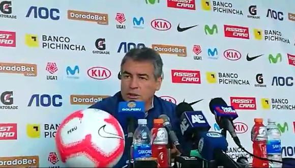 Alianza Lima: Pablo Bengoechea habló de los refuerzos. (Video: Jesús Mestas)