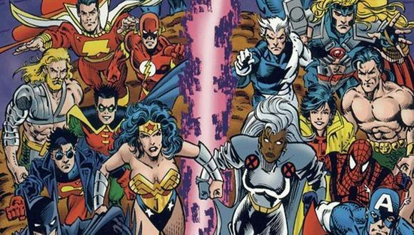 Un nuevo crossover entre Marvel y DC estaría pronto a estrenarse.