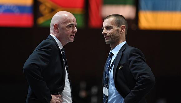 Aleksander Ceferín rechazó la idea de disputar un Mundial de fútbol cada dos años. (Getty)