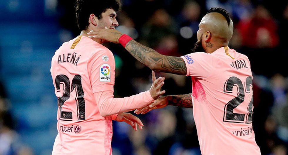 Arturo Vidal llegó al Barcelona en 2018 desde el Bayern Munich. (Getty)
