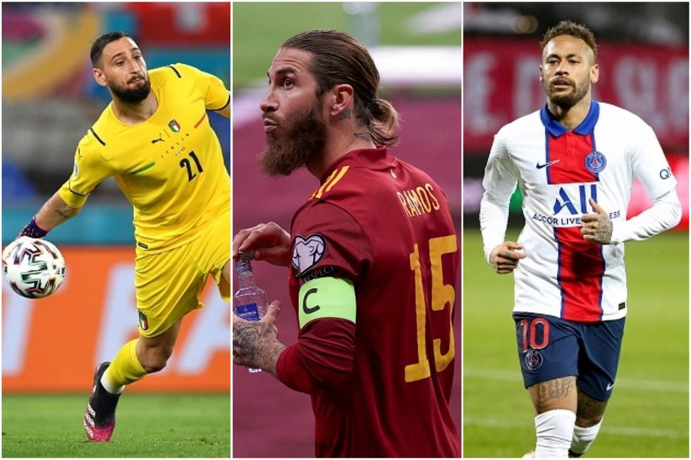 El XI del PSG de la próxima temporada con la llegada de Ramos. (Getty)
