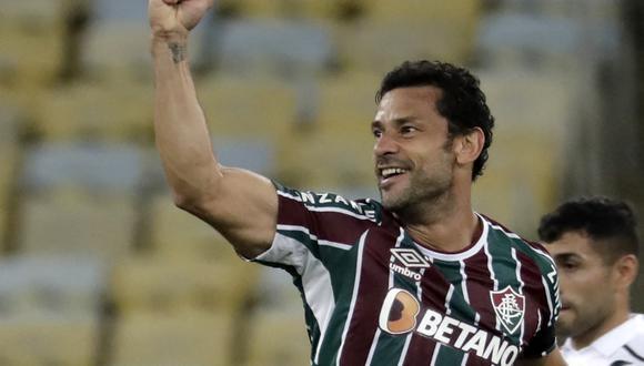 Fred anotó el gol del triunfo de Fluminense. (Foto: Conmebol)