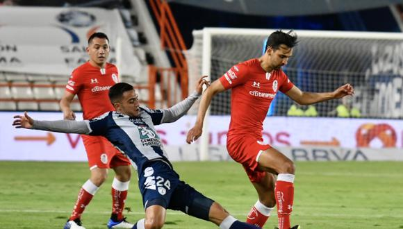 Pachuca y Toluca no se hicieron daño por la fecha 12 del Guard1anes 2020.