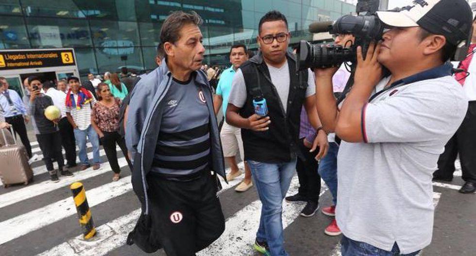 Roberto Chale tiene un año de contrato con Universitario de Deportes. (Fernando Sangama)
