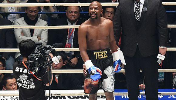 Floyd Mayweather registra un récord de 50-0 como boxeador profesional. (Getty Images)