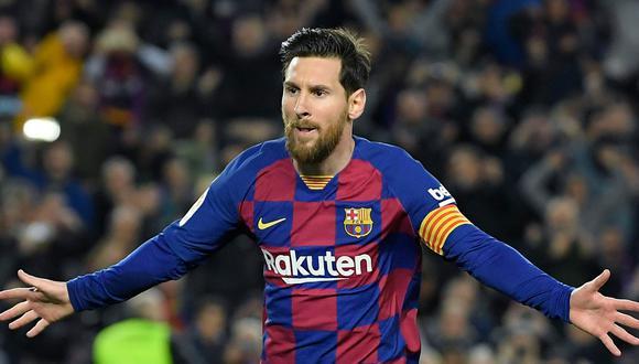 Lionel Messi se vio obligado a continuar una semana más en el Barcelona, que hizo respetar el contrato con el argentino. (Foto: AFP)