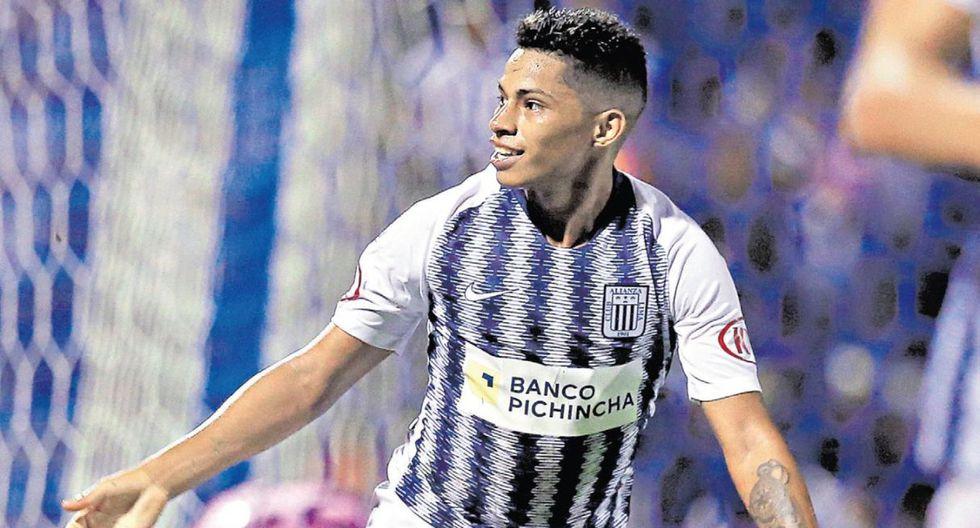 Las postales que todo hincha de Alianza Lima quiere ver: Kevin Quevedo celebrando goles. (GEC)