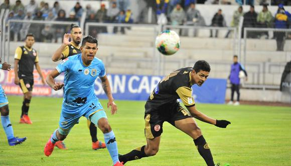 Deportivo Binacional vs. UTC chocan en Juliaca por la Fecha 4 del Torneo Apertura. (Foto: Edson Flores)