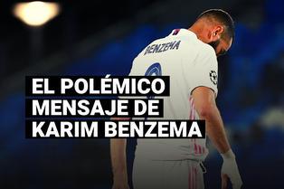 Benzema fue captado hablando mal de Vinicius y pidiendo que no le den el balón