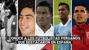 Luis Abram: recuerda a los futbolistas peruanos que destacaron en España