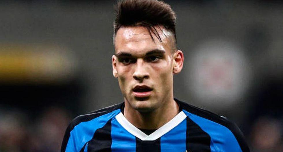 Lautaro Martínez llegó al Inter de Milán tras jugar en Racing Club. (Getty)