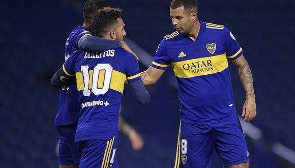 Boca Juniors venció a The Strongest por la Copa Libertadores. (AFP)