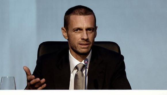 Aleksander Ceferin sucedió a Platini como presidente de la UEFA. (Foto: AFP)