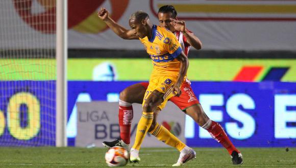 Tigres y Necaxa empataron en el estadio Universitario por la jornada 4 del Clausura 2021 Liga MX.