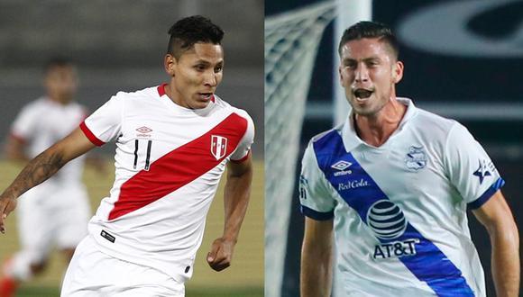 Raúl Ruidíaz elogio a Santiago Ormeño por su buen presente en Puebla FC. (Foto: Getty)