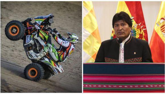 La máquina de Juan Carlos Salvatierra no aprobó la inspección final previo al Dakar. (Foto: AFP)