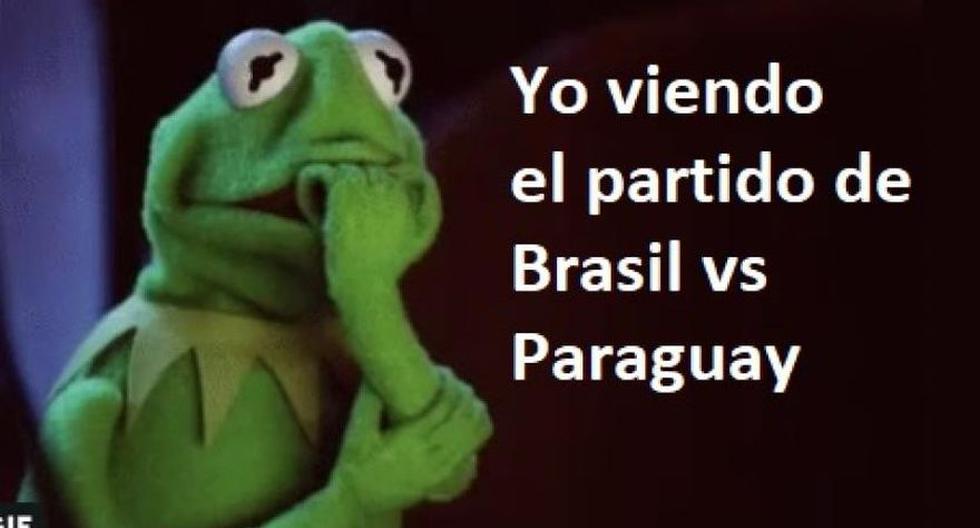 Brasil se pasó de ronda en la Copa América y su triunfo sobre Paraguay dejó estos memes. (Foto: Difusión)