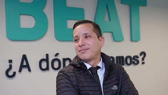 Pierre León, padre de familia y dueño de dos emprendimientos.