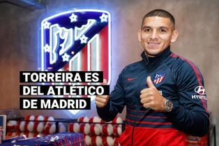 """Lucas Torreira llega al Atlético de Madrid: """"Será un placer estar bajo las órdenes de Simeone"""""""