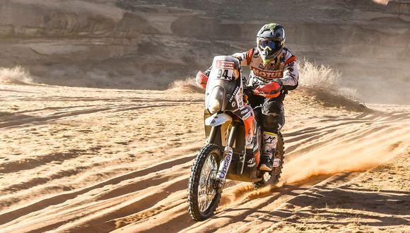 Dakar 2020: así les fue a los peruanos en la Etapa 6 del rally. (Foto: Dakar/Lalo Burga)