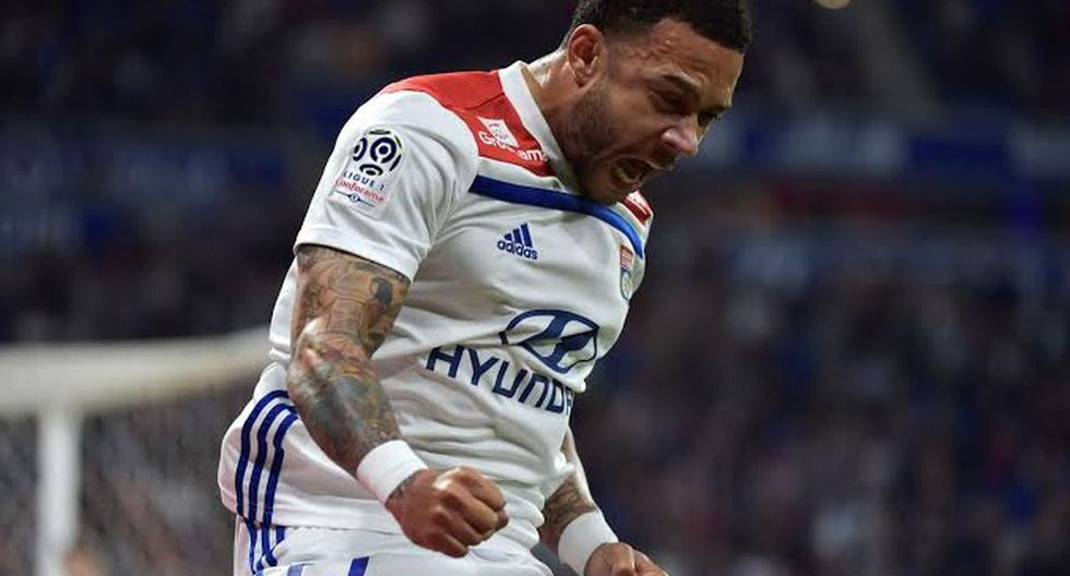 7. Memphis Depay del Olympique Lyon - 4 goles. (Foto: Getty)