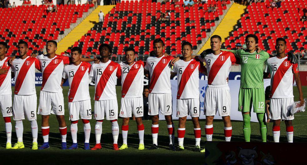 La selección Peruana Sub 20 va por un triunfo ante Ecuador. (Photosport)