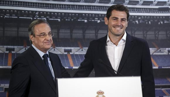 Iker Casillas trabaja en la Fundación del Real Madrid desde el año pasado. (Foto: AFP)