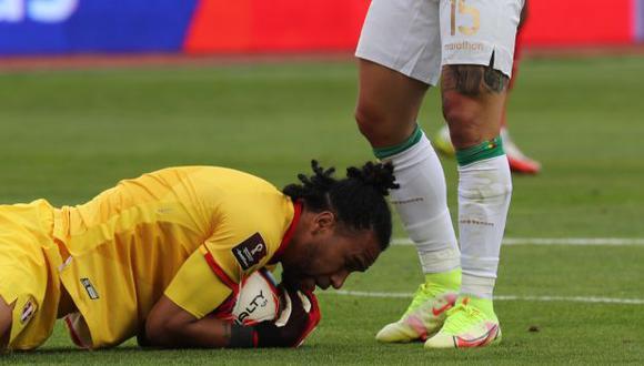 Pedro Gallese analizó la derrota en el Perú vs. Bolivia de las Eliminatorias. (Foto: EFE)