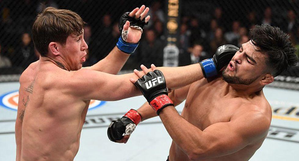Darren Till viene de vencer a Kelvin Gastelum en el UFC 244. (Getty Images)