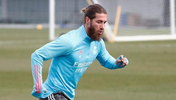 Sergio Ramos acaba contrato con los 'blancos' en junio próximo. (Foto: Real Madrid)