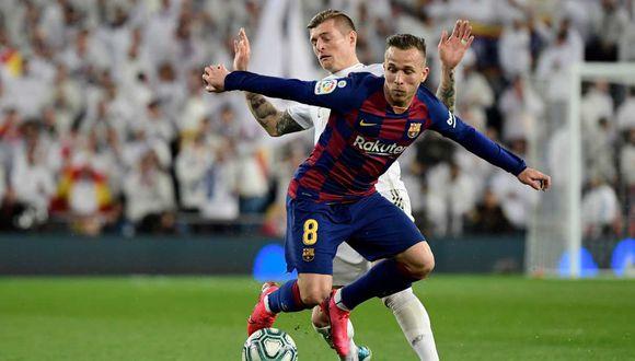 La actitud de Arthur Melo fue criticada por el presidente de Barcelona. (Foto: AFP)