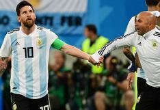 Ni una palabra hace tres años: la confesión de Sampaoli y su relación con Messi