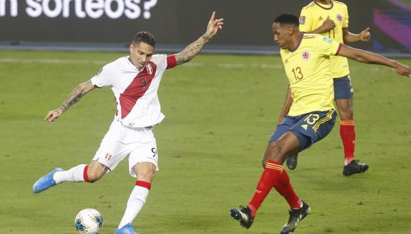 Perú perdió 3-0 ante Colombia por Eliminatorias (Foto:GEC)