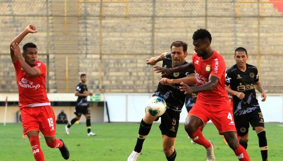 Cusco FC vs. Sport Huancayo jugaron en el Monumental (Foto: Liga 1)