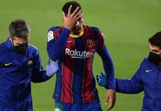 Otro revés para Koeman: Ronald Araujo no recibe el alta médica y es baja para el Barcelona vs Elche