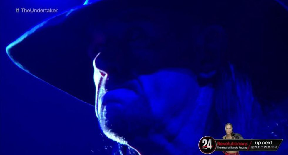 The Undertaker regresó al show rojo. (WWE)