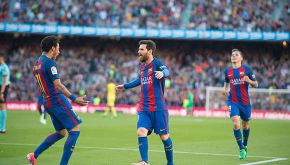 Neymar y Lionel Messi jugaron juntos en el Barcelona hasta el 2017. (Getty)