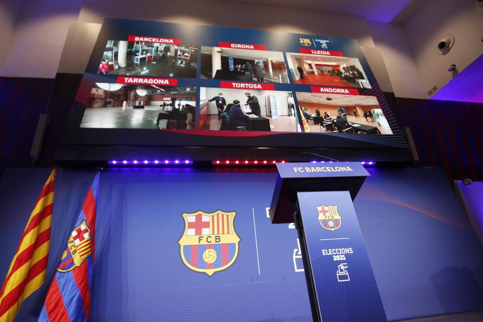 El resumen de lo mejor de la jornada de las elecciones presidenciales en el Barcelona. (Agencias / Internet)