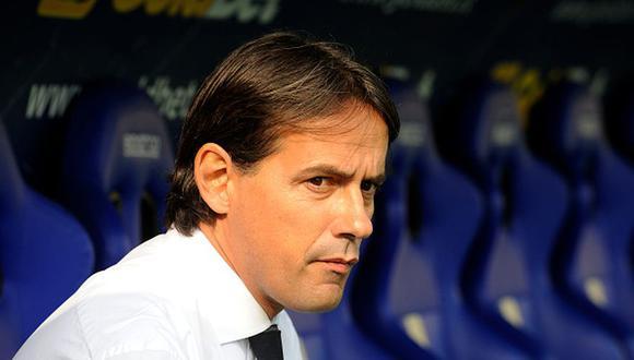 Simone Inzaghi llegó al banquillo del Inter de Milán esta temporada en reemplazo de Conte. (Foto: Getty Images)