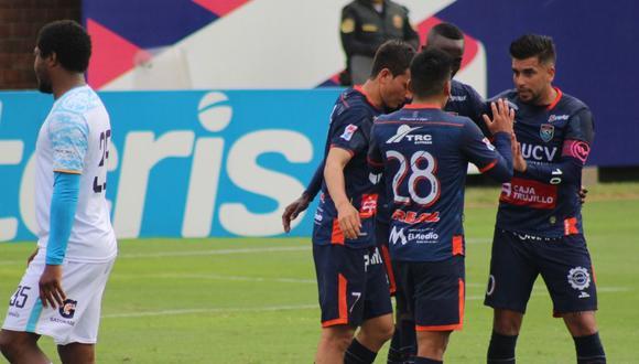 Llacuabamba y Vallejo se midieron en la Villa Deportiva Nacional. (Foto: Liga 1)
