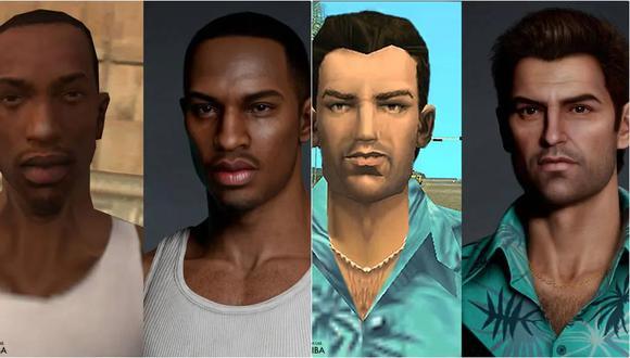 ¿GTA 6 se vería así en PS5? Artista rediseña los personajes de Grand Theft Auto. (Foto:  Hossein Diba)