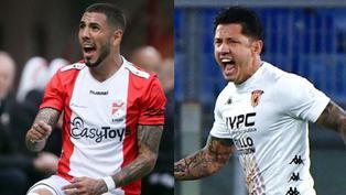 Futbolistas peruanos pelean por no descender en Europa