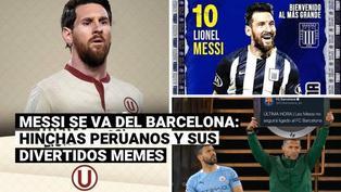 Messi se va del Barcelona: hinchas peruanos y sus divertidos memes