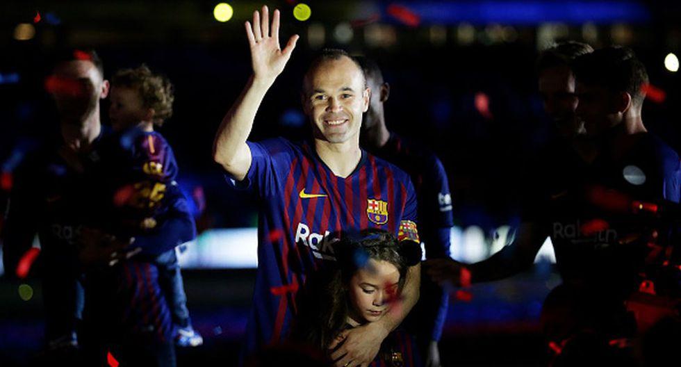 Andrés Iniesta lo ganó todo como jugador del Barcelona y actualmente está en el Vissel Kobe de Japón. (Foto: Getty)