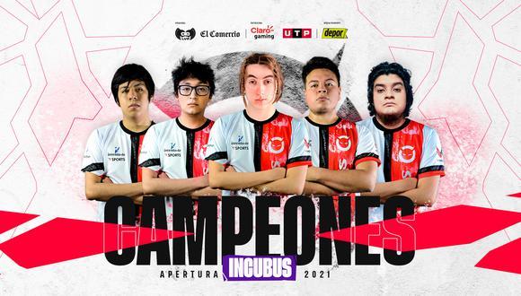 Claro Gaming Stars League: Incubus se lleva el título del Apertura. (Foto: LVP)