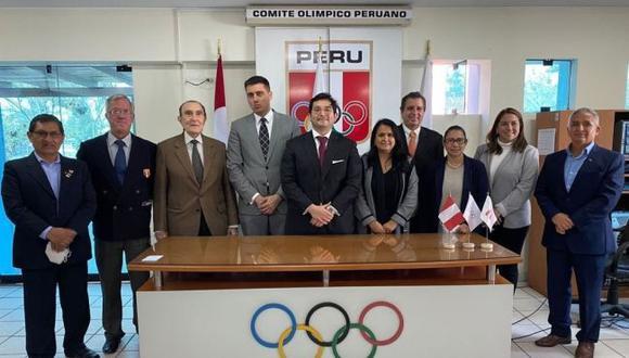Renzo Manyari se convirtió en nuevo presidente del Comité Olímpico Peruano. (Difusión)