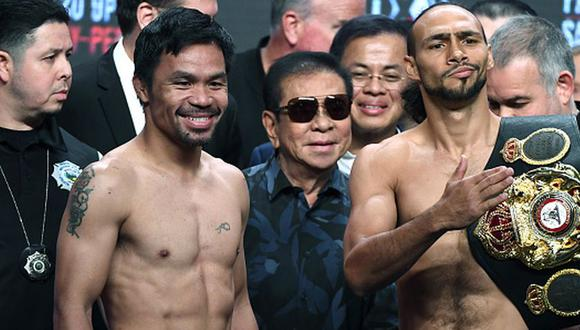 El evento de Manny Pacquiao vs Keith Thurman tendrá ocho combates más. (Getty Images)