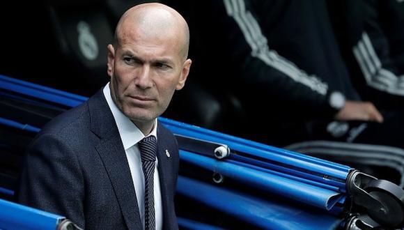 Zinedine Zidane llegó al Real Madrid tras la salida de Santiago Solari en marzo de este año. (Getty)