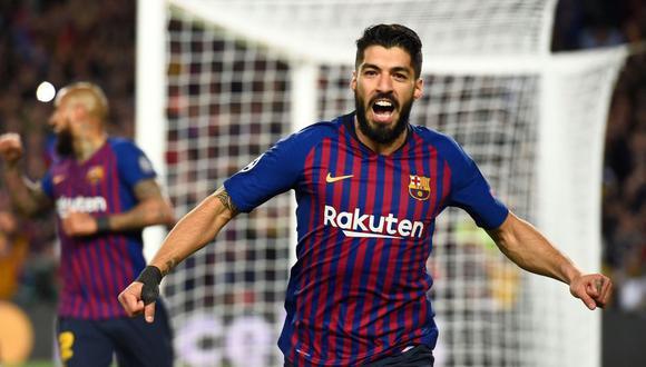 Luis Suárez llegó a Barcelona en la temporada 2014. (Foto: AFP)