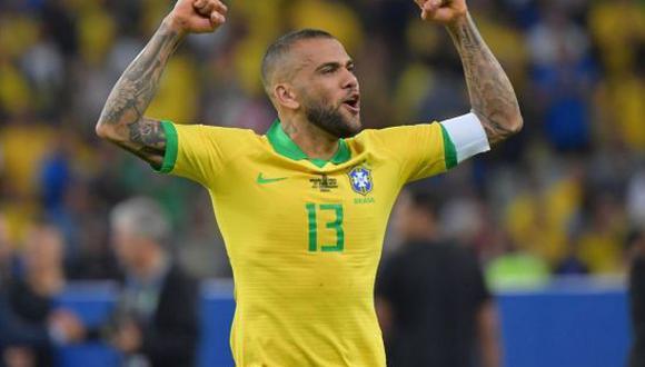Dani Alves fue convocado para reforzar a la Selección de Brasil en Tokio 2020. (Foto: Getty Images)